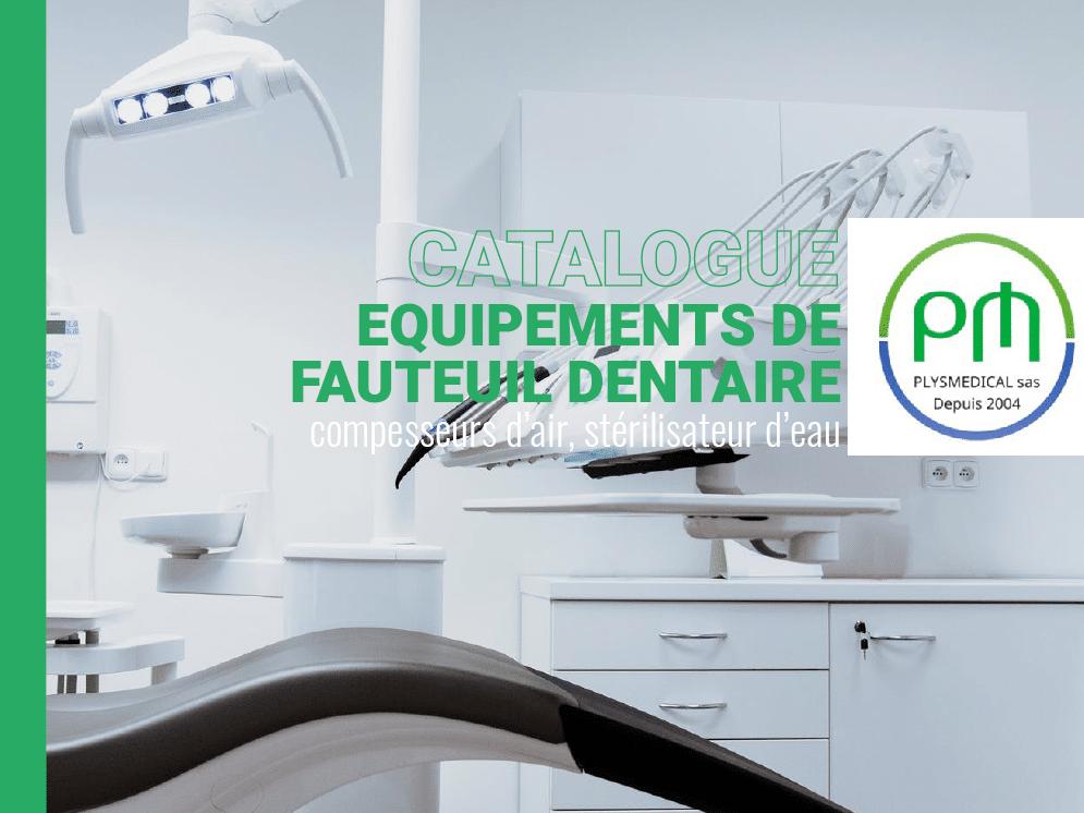 Catalogue équipement fauteuil dentaire